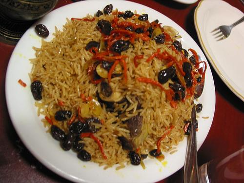 Quabili Palow, ricetta afgana