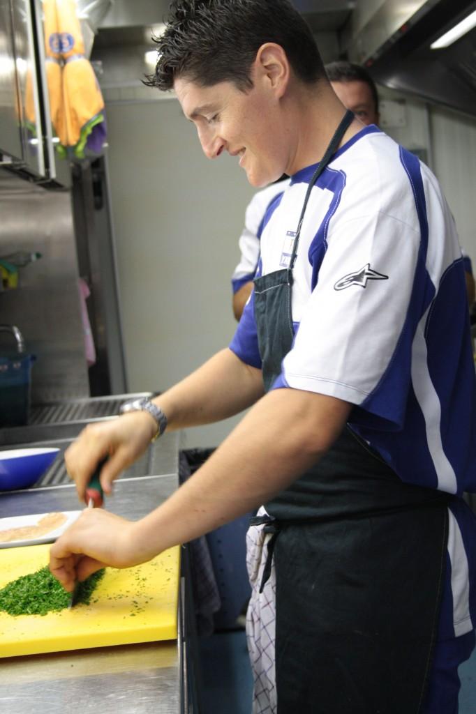 Renzo in cucina