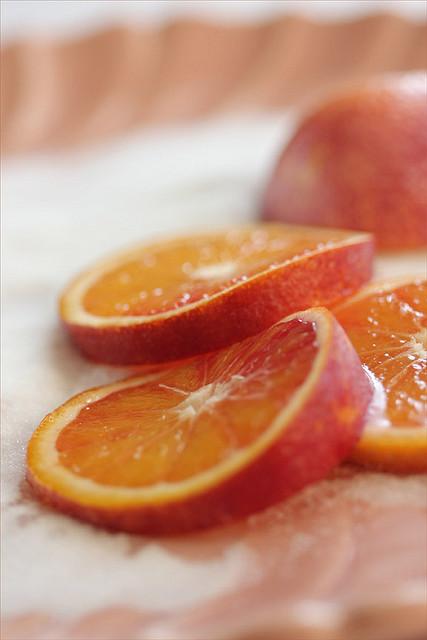 fette arancia