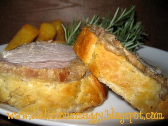 arrosto di maiale in crosta
